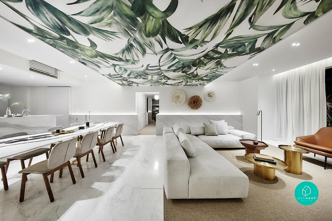 Expensive Design Features Renovation Singapore