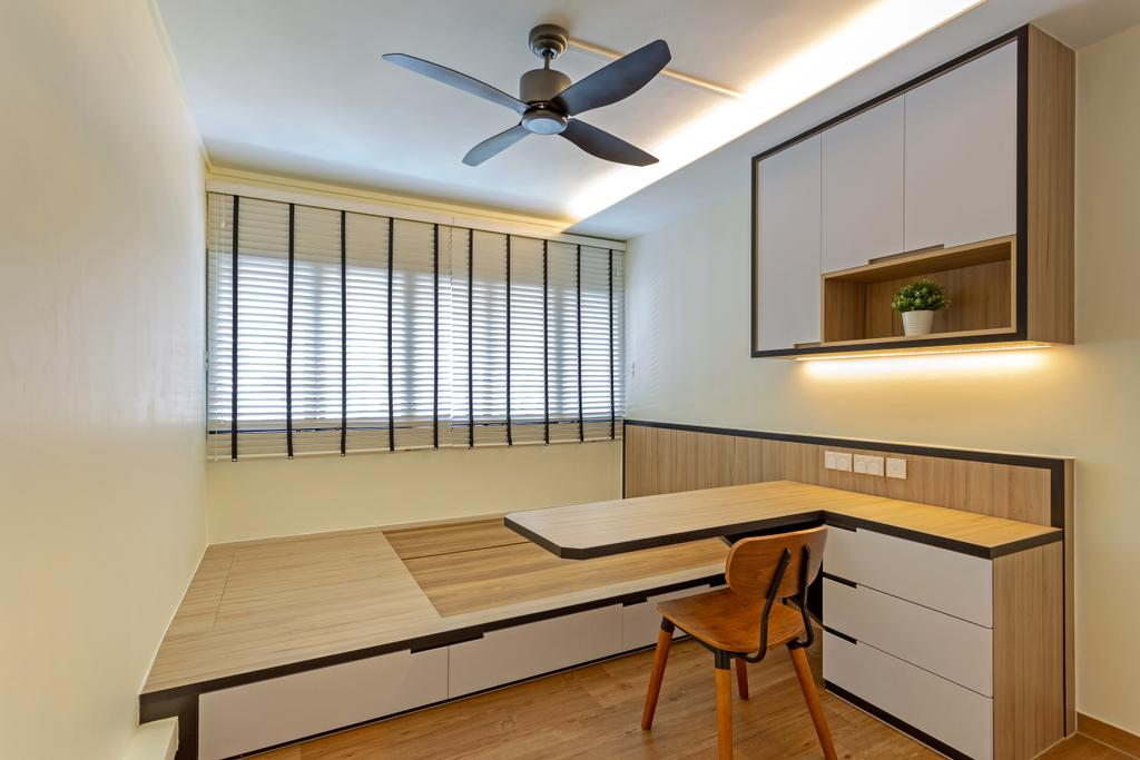 Contemporary, HDB, Bedroom, Compassvale Walk, Interior Designer, Metamorph Design