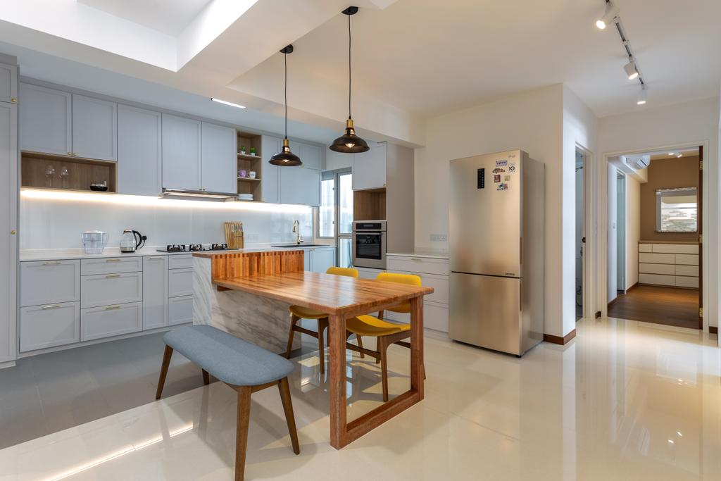 Eclectic, HDB, Dining Room, Sumang Lane, Interior Designer, The Roomakers