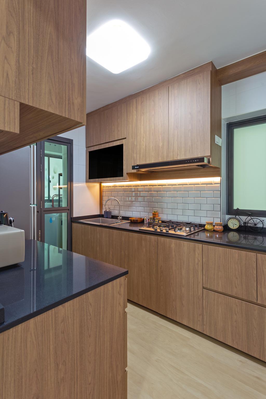 Contemporary, HDB, Kitchen, Skyville @ Dawson, Interior Designer, Tan Studio