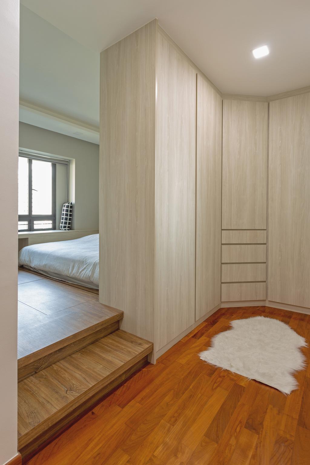 Contemporary, HDB, Bedroom, Skyville @ Dawson, Interior Designer, Tan Studio
