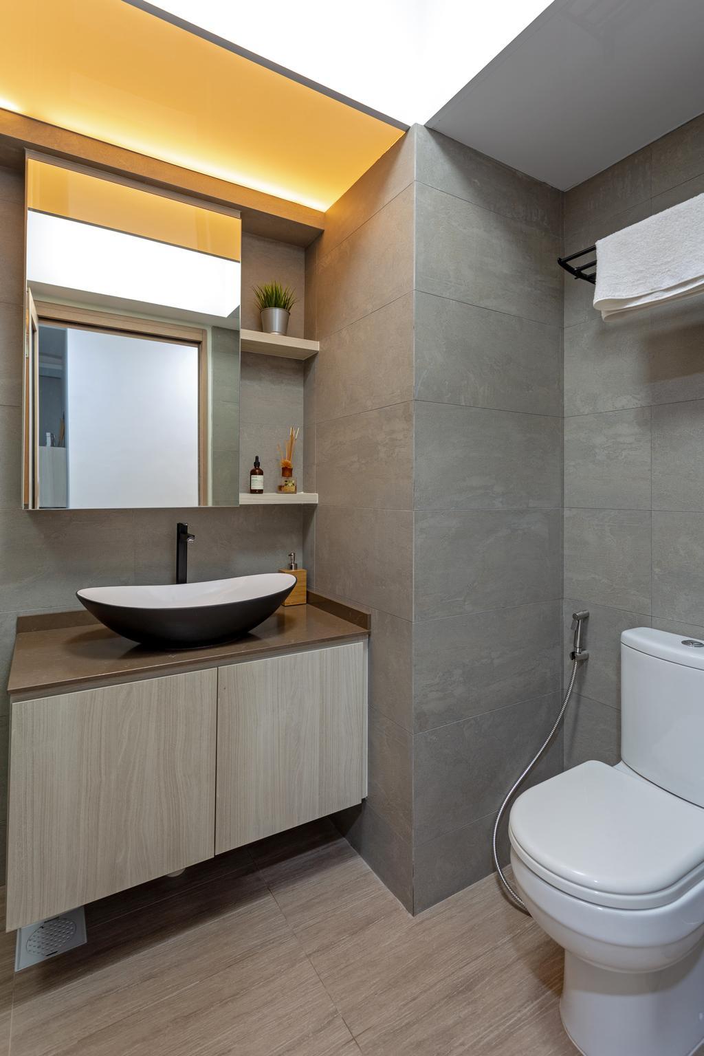 Contemporary, HDB, Bathroom, Skyville @ Dawson, Interior Designer, Tan Studio