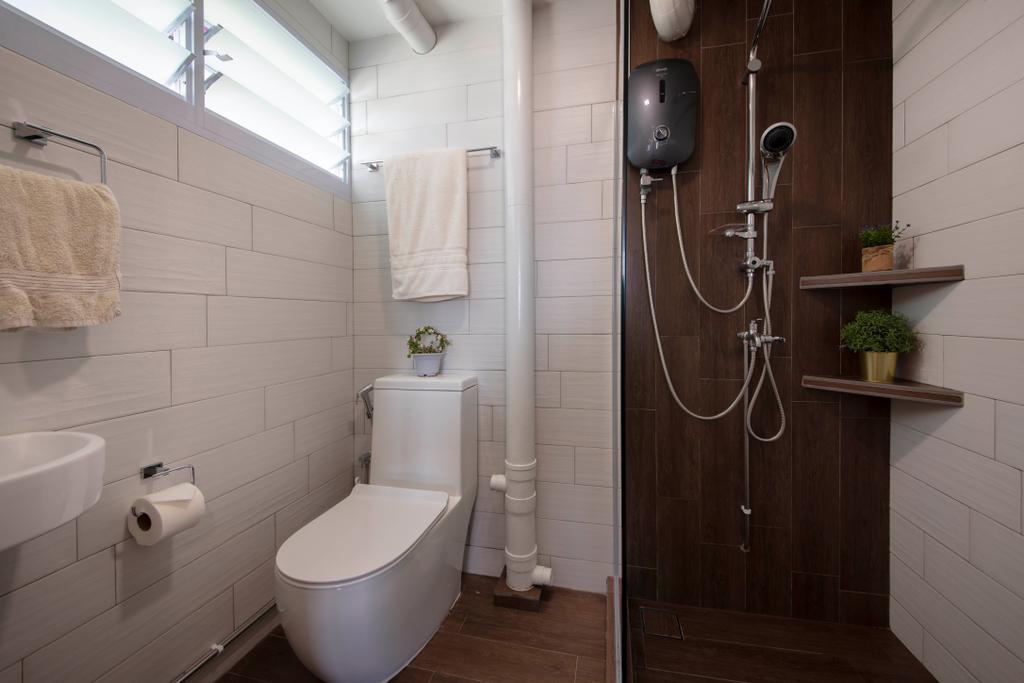 Contemporary, HDB, Bathroom, Jurong East Street 13, Interior Designer, Ascenders Design Studio