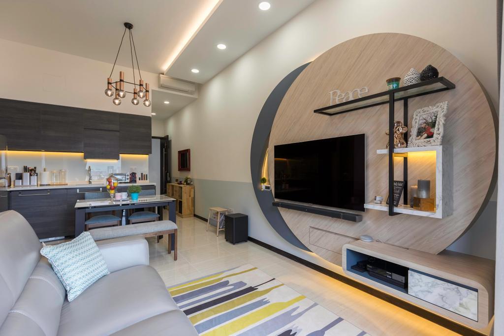Condo, Bedroom, Sims Urban Oasis, Interior Designer, Starry Homestead