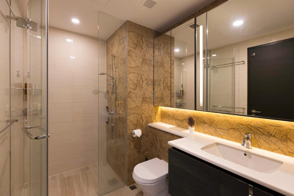 Condo, Bathroom, Sims Urban Oasis, Interior Designer, Starry Homestead