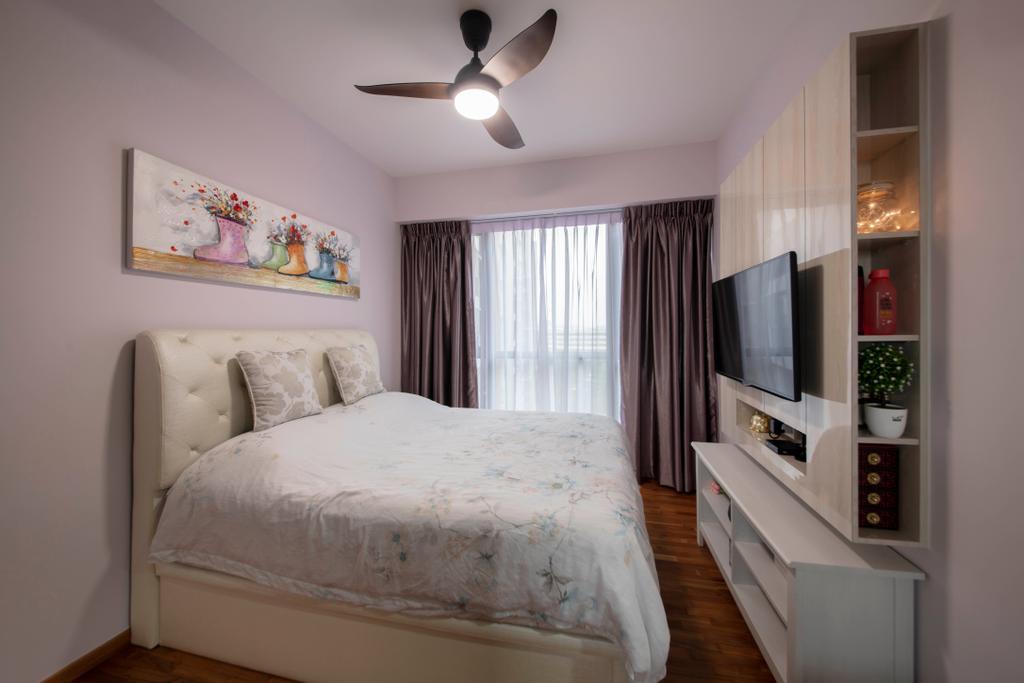 Modern, Condo, Bedroom, Sims Urban Oasis, Interior Designer, Starry Homestead