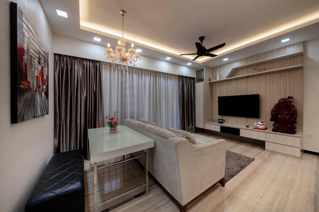 Modern, Condo, Dining Room, Sims Urban Oasis, Interior Designer, Starry Homestead
