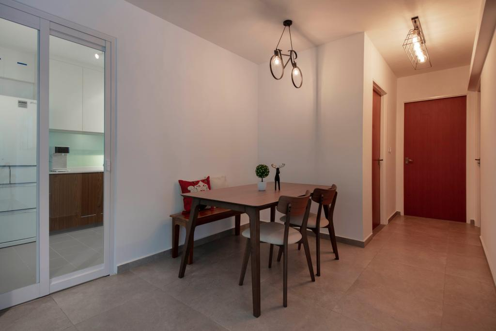 HDB, Dining Room, Choa Chu Kang Avenue 1, Interior Designer, Starry Homestead