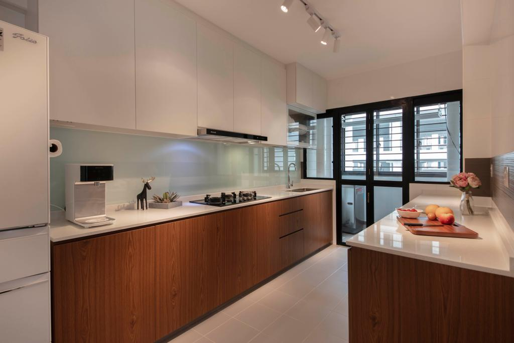 HDB, Kitchen, Choa Chu Kang Avenue 1, Interior Designer, Starry Homestead