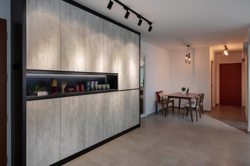 HDB, Living Room, Choa Chu Kang Avenue 1, Interior Designer, Starry Homestead