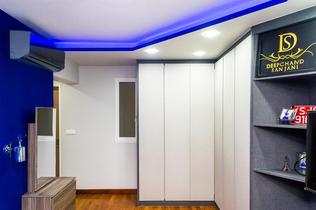 Modern, HDB, Bedroom, Edgefield Plains, Interior Designer, Archive Design