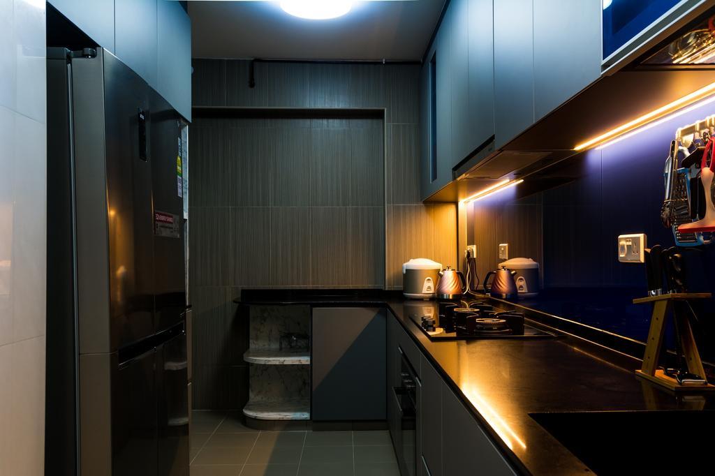 Modern, HDB, Kitchen, Edgefield Plains, Interior Designer, Archive Design