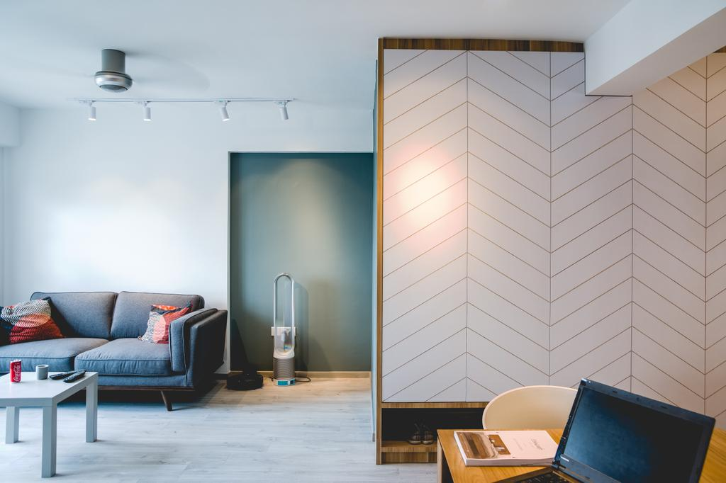 Scandinavian, HDB, Living Room, Ghim Moh Link, Interior Designer, Archive Design