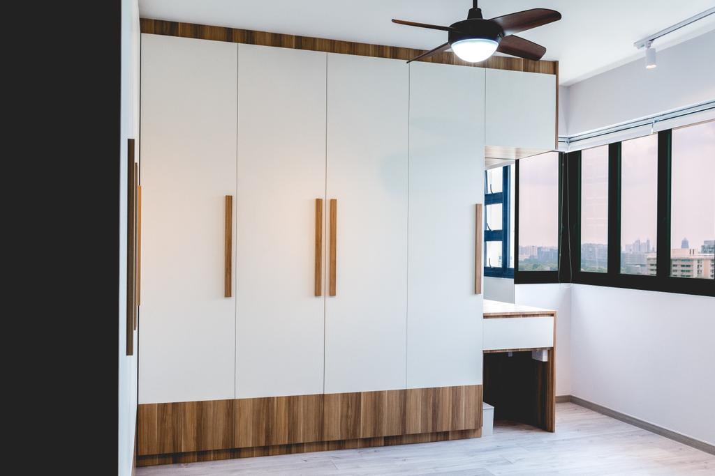 Scandinavian, HDB, Bedroom, Ghim Moh Link, Interior Designer, Archive Design
