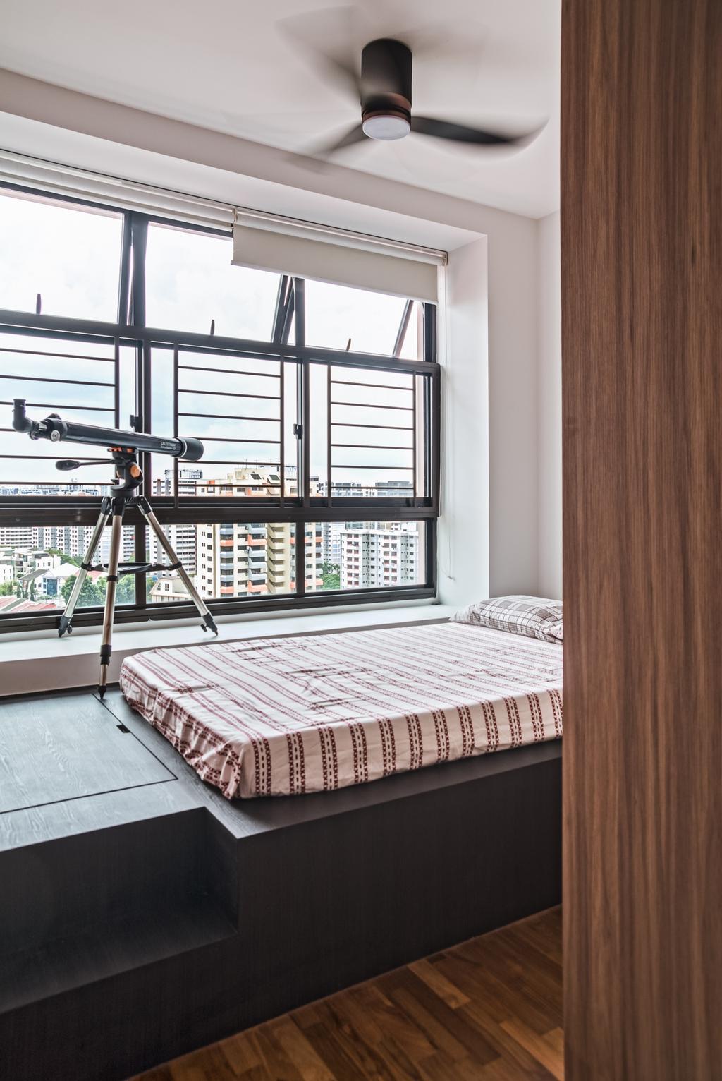 Modern, HDB, Bedroom, Geylang Serai, Interior Designer, Archive Design, Contemporary