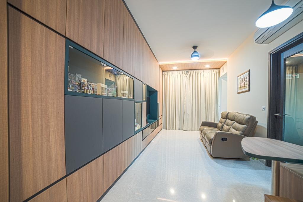 Contemporary, Condo, Living Room, Jade Residences, Interior Designer, Archive Design