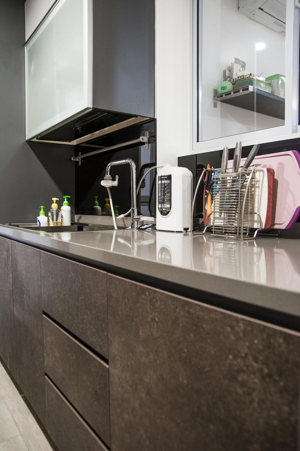 Contemporary, Condo, Kitchen, Central Grove, Interior Designer, Archive Design