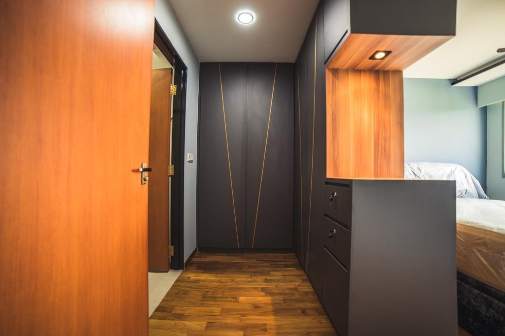 Contemporary, HDB, Bedroom, Jalan Tenteram, Interior Designer, Archive Design, Modern
