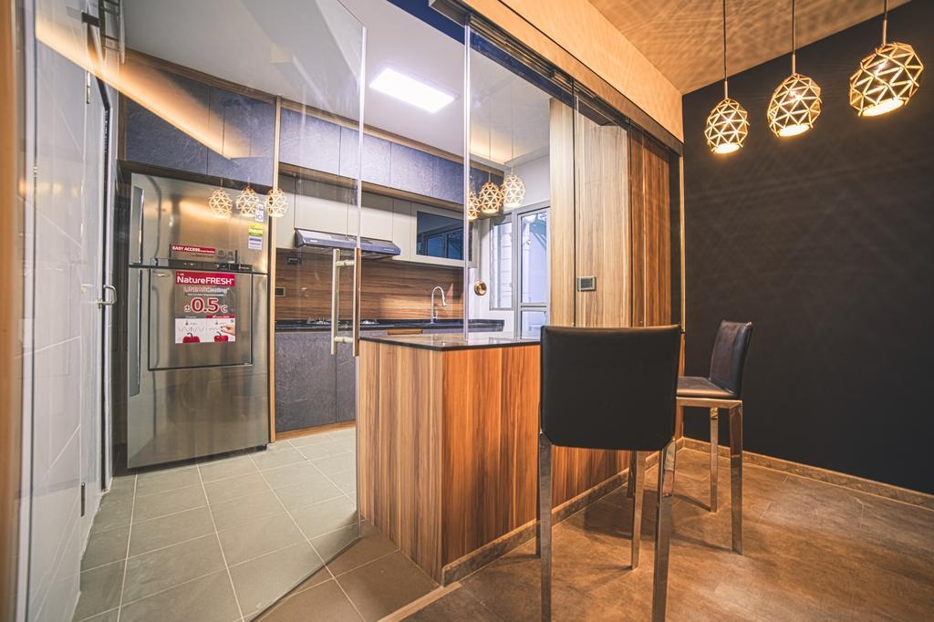 Contemporary, HDB, Dining Room, Jalan Tenteram, Interior Designer, Archive Design, Modern