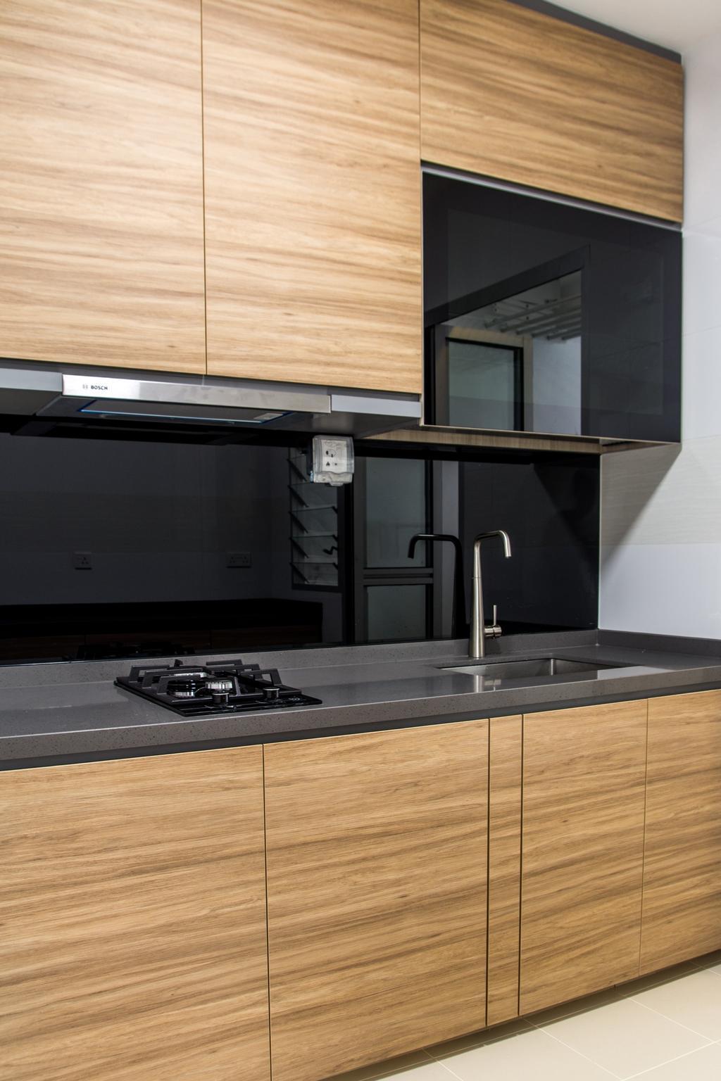 Contemporary, HDB, Kitchen, Canberra Street, Interior Designer, Archive Design