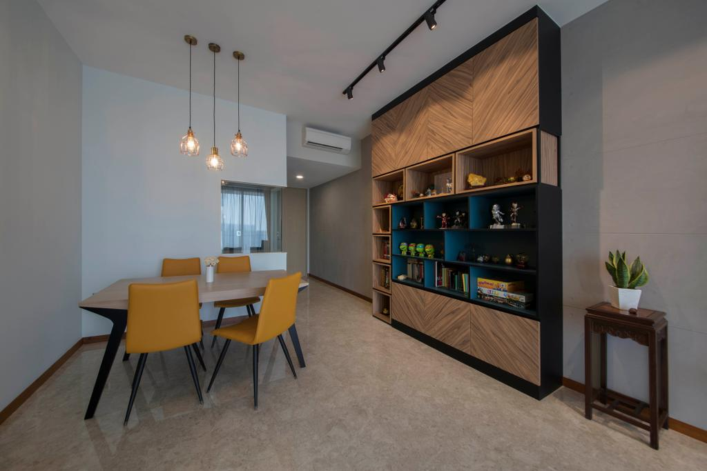 Contemporary, Condo, Dining Room, The Venue Residences, Interior Designer, Ascenders Design Studio