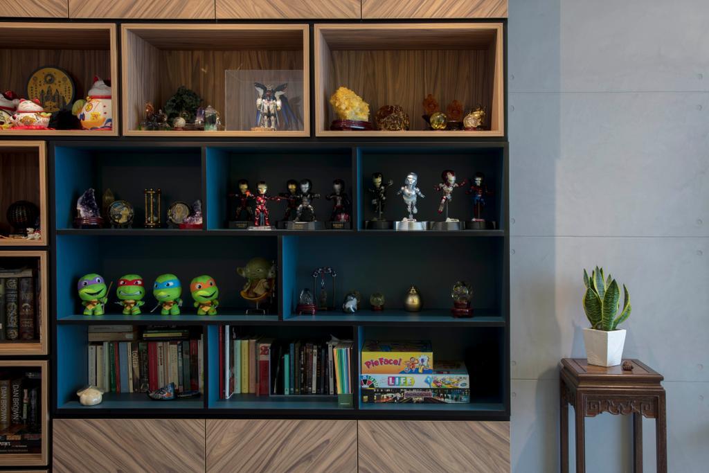 Contemporary, Condo, Living Room, The Venue Residences, Interior Designer, Ascenders Design Studio