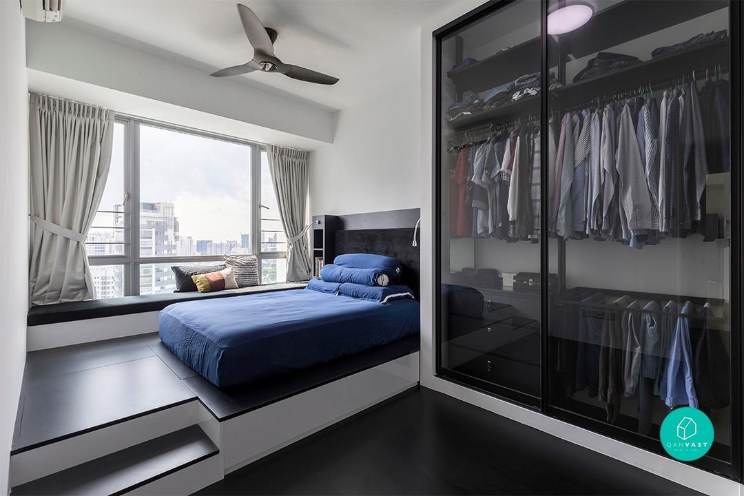 Bedroom - Platform Bed