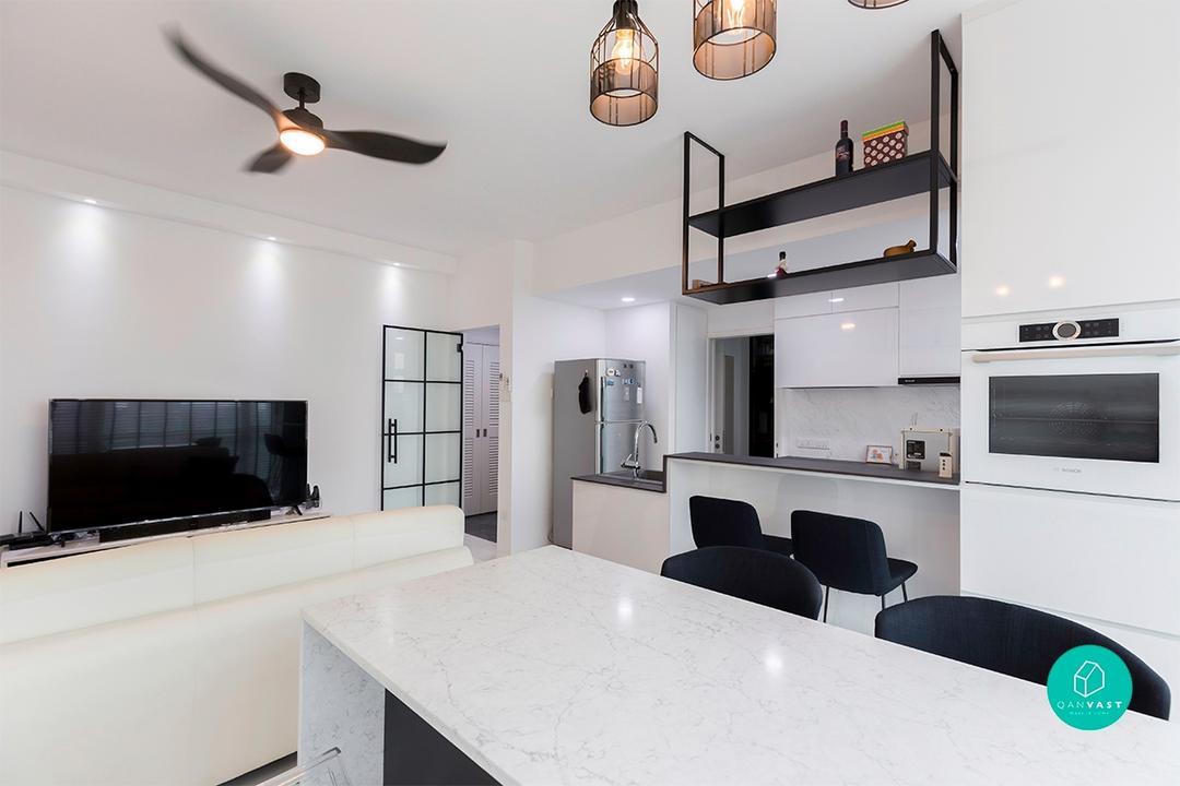 Kitchen Island - Baking Corner