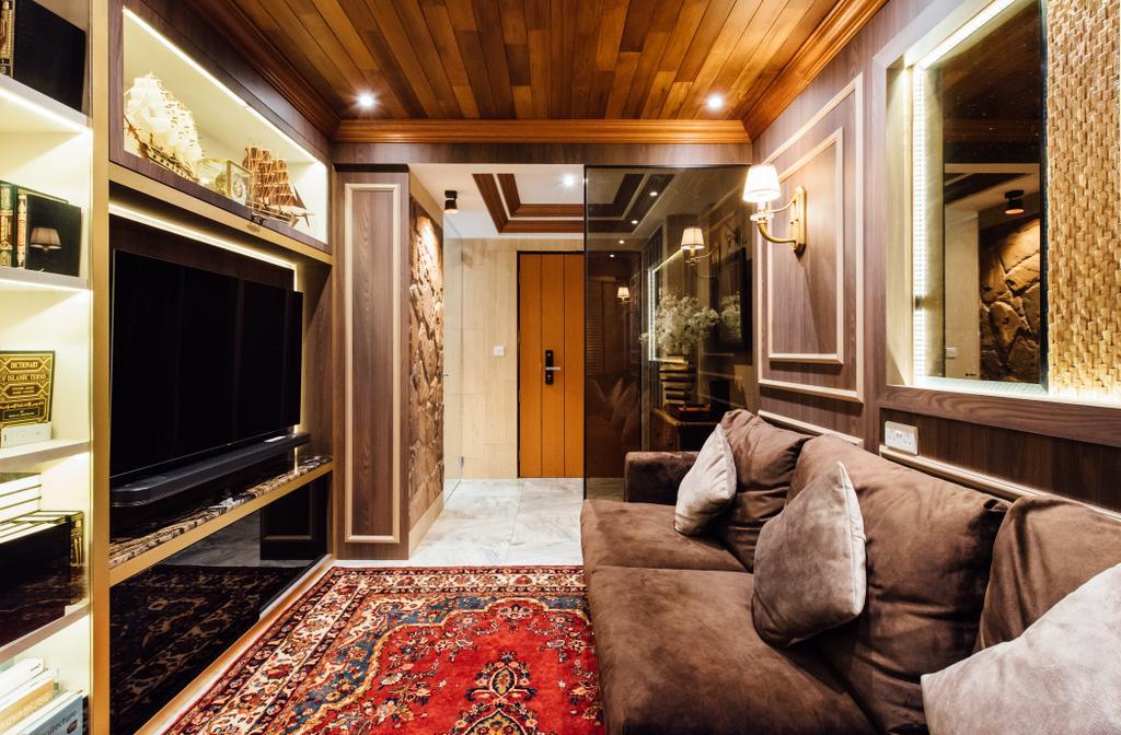 Contemporary, HDB, Living Room, Bedok North Street 4, Interior Designer, Fatema Design Studio