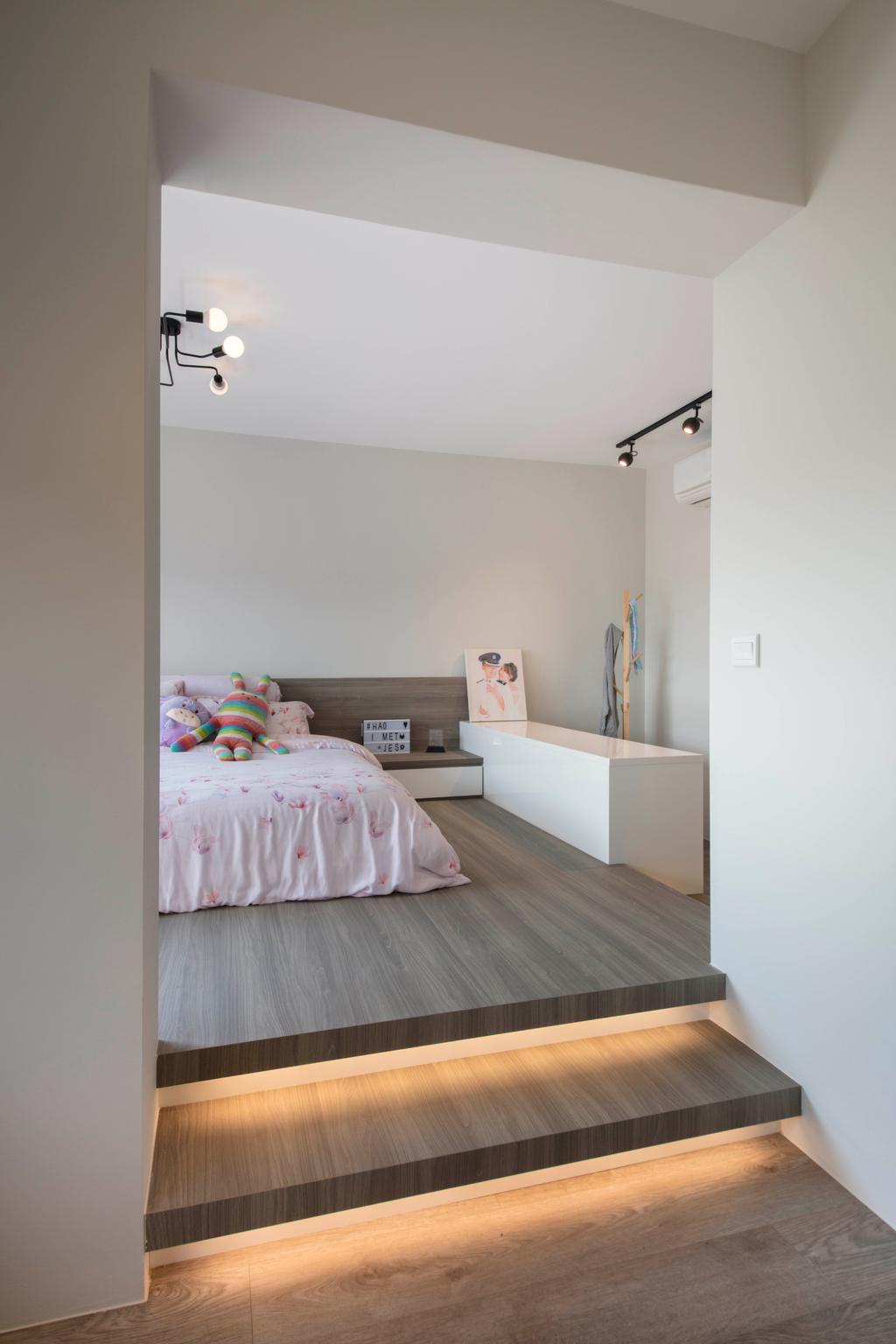 Contemporary, HDB, Bedroom, Canberra, Interior Designer, Aart Boxx Interior