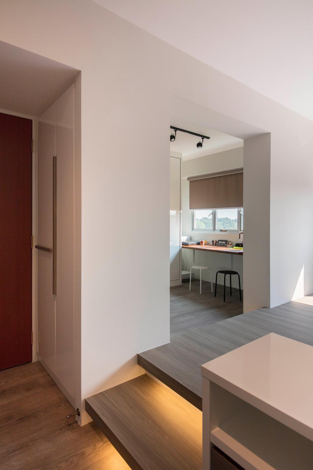 Contemporary, HDB, Living Room, Canberra, Interior Designer, Aart Boxx Interior