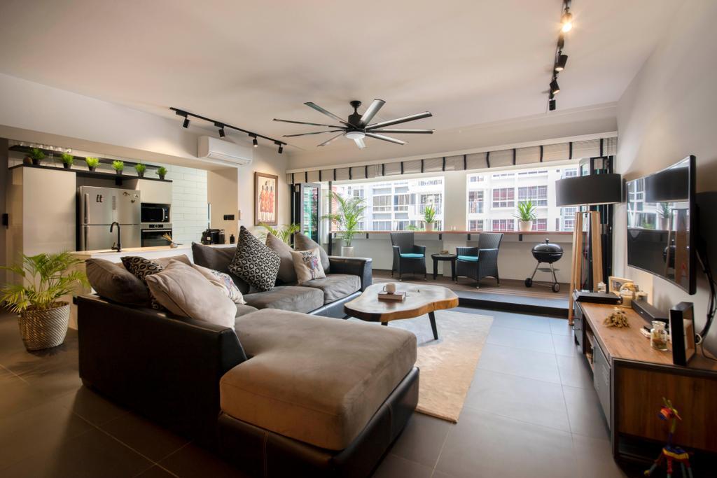Contemporary, HDB, Elias Road, Interior Designer, Aart Boxx Interior, Modern