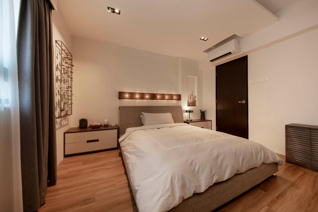 Modern, HDB, Bedroom, Marsiling Rise, Interior Designer, Aart Boxx Interior, Contemporary
