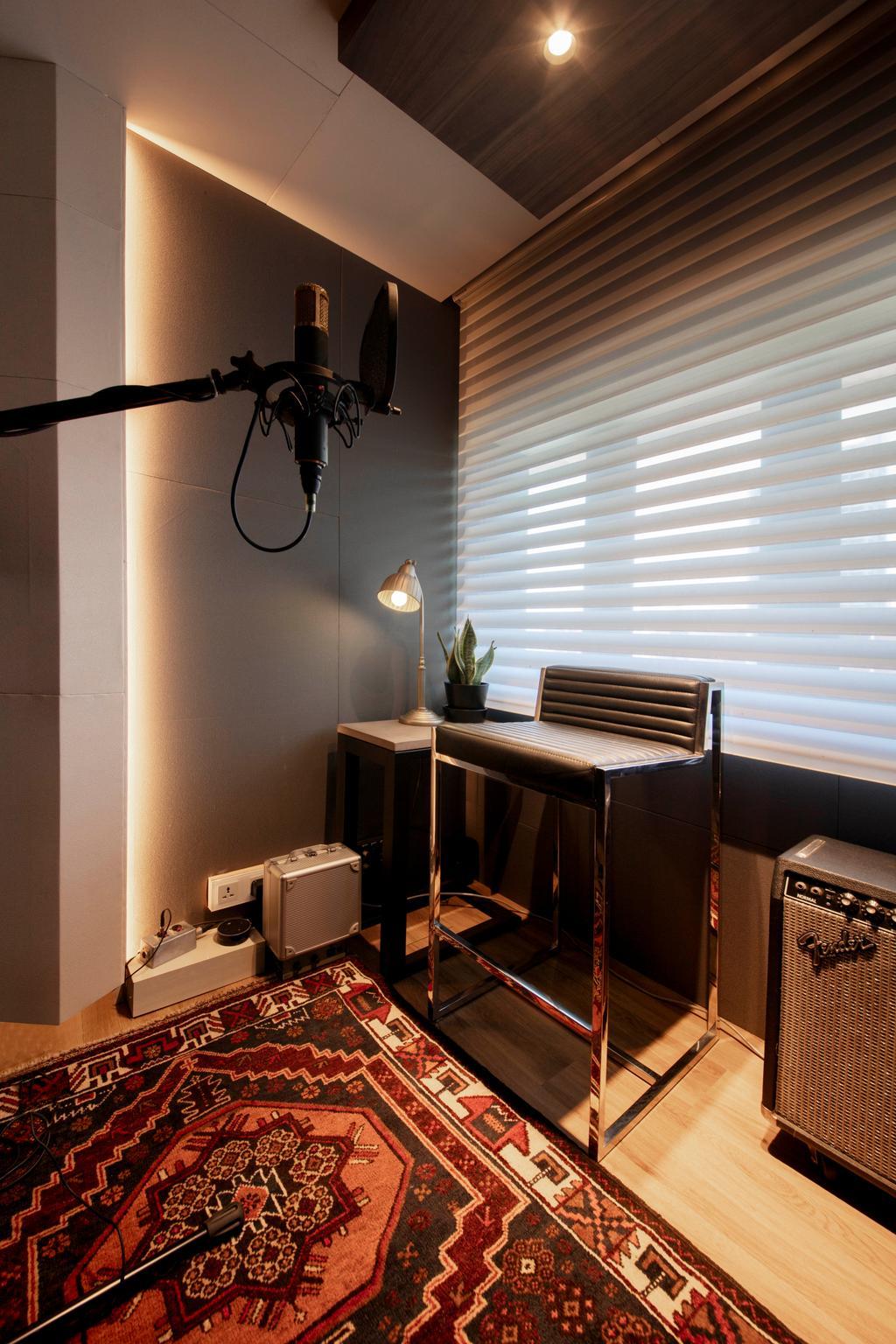 Modern, HDB, Study, Marsiling Rise, Interior Designer, Aart Boxx Interior, Contemporary