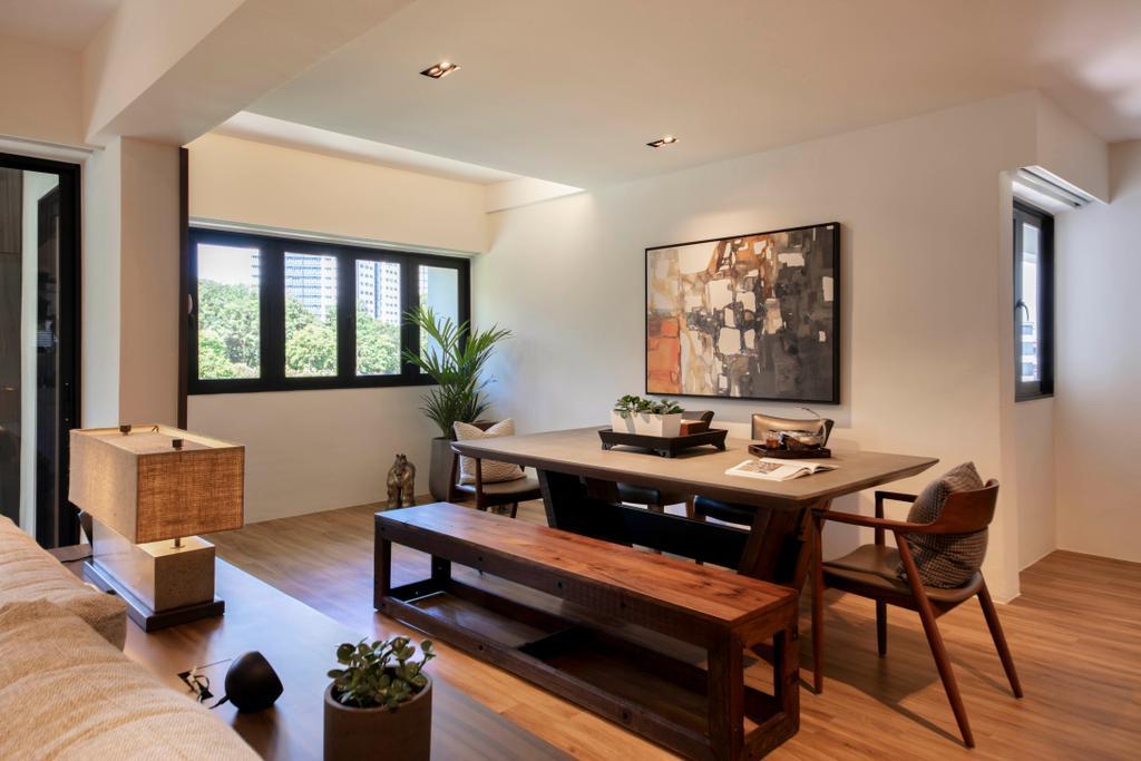 Modern, HDB, Dining Room, Marsiling Rise, Interior Designer, Aart Boxx Interior, Contemporary