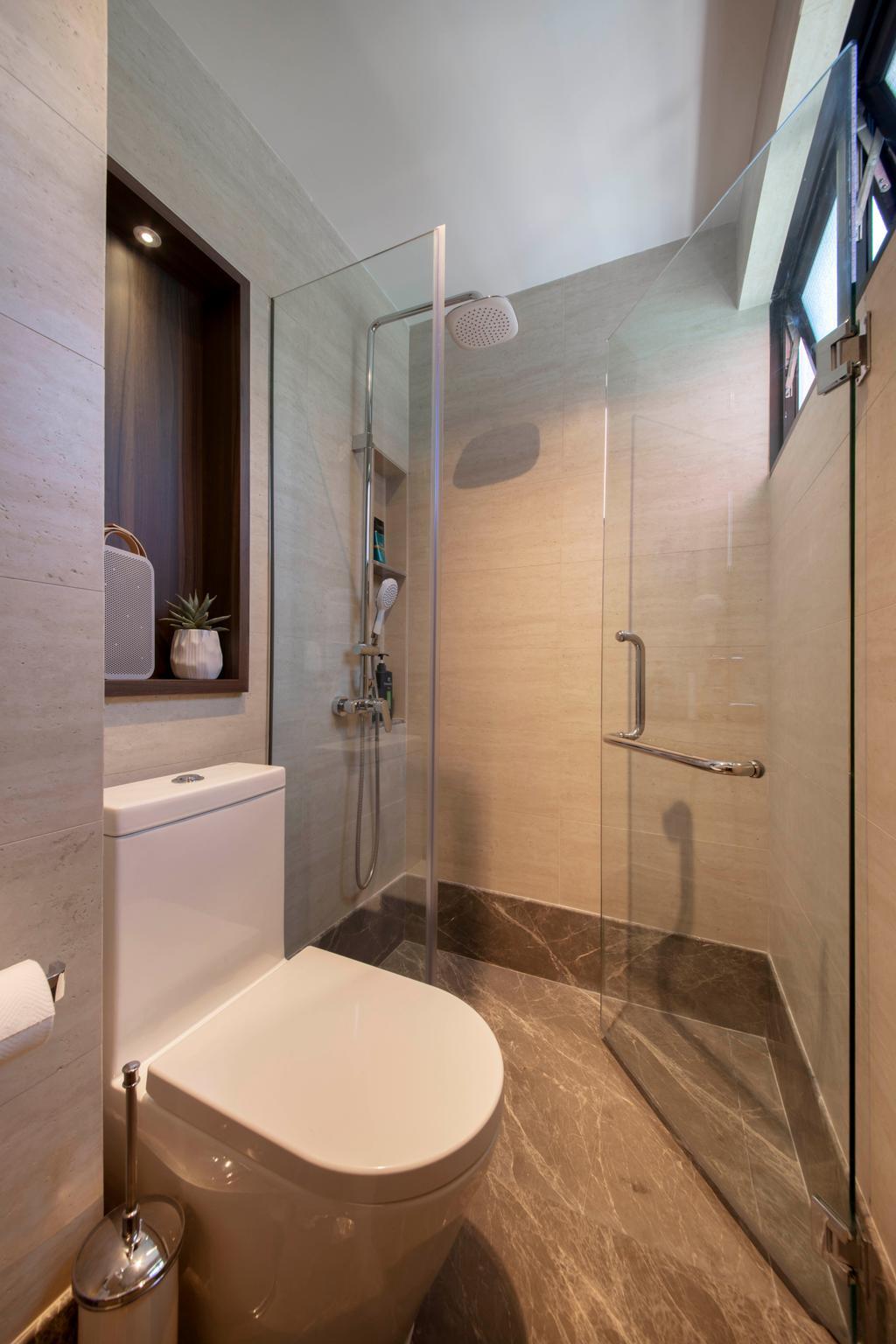 Modern, HDB, Bathroom, Marsiling Rise, Interior Designer, Aart Boxx Interior, Contemporary