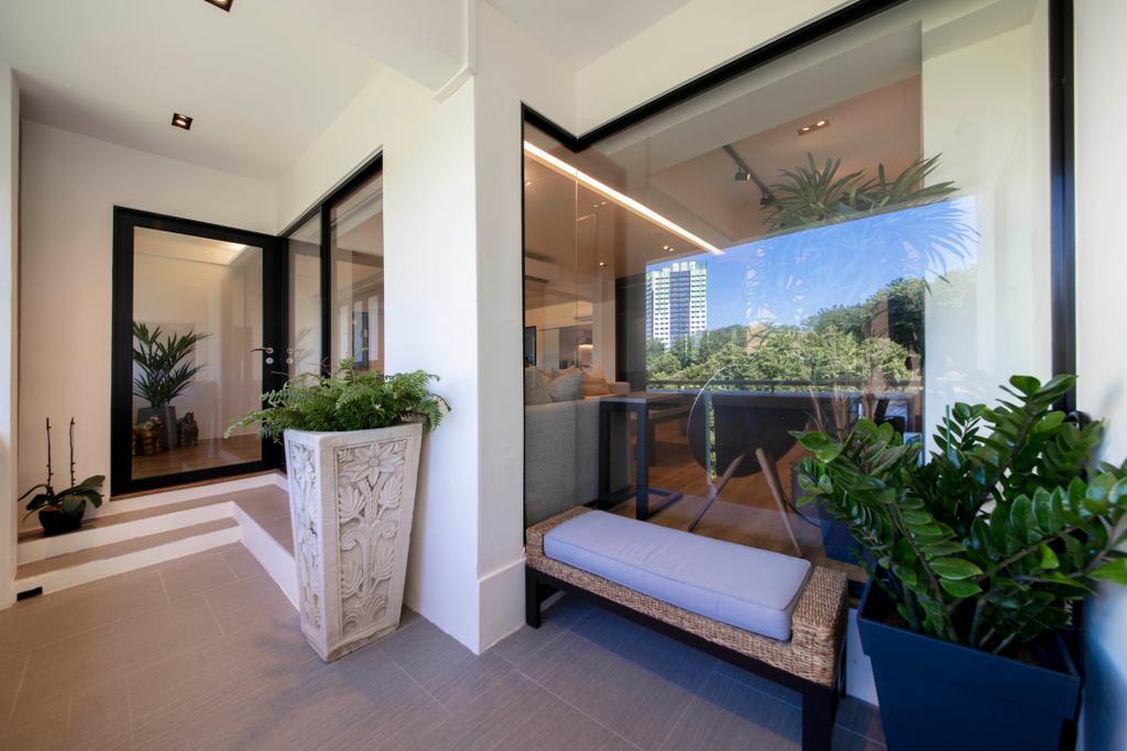 Modern, HDB, Balcony, Marsiling Rise, Interior Designer, Aart Boxx Interior, Contemporary, Jumbo Flat, Jumbo