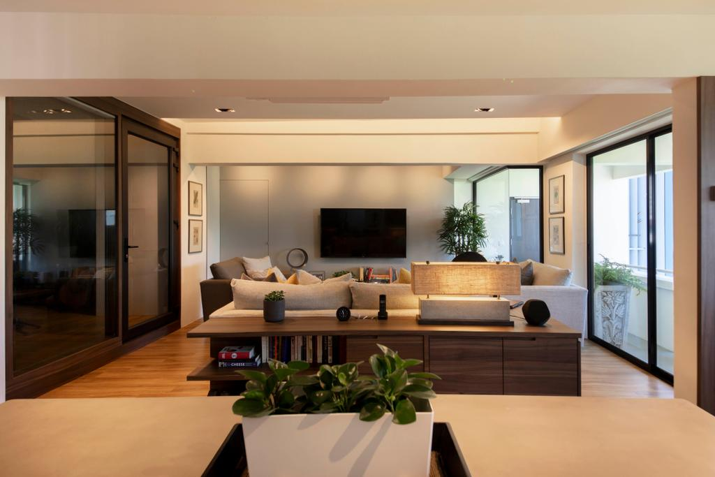 Modern, HDB, Living Room, Marsiling Rise, Interior Designer, Aart Boxx Interior, Contemporary