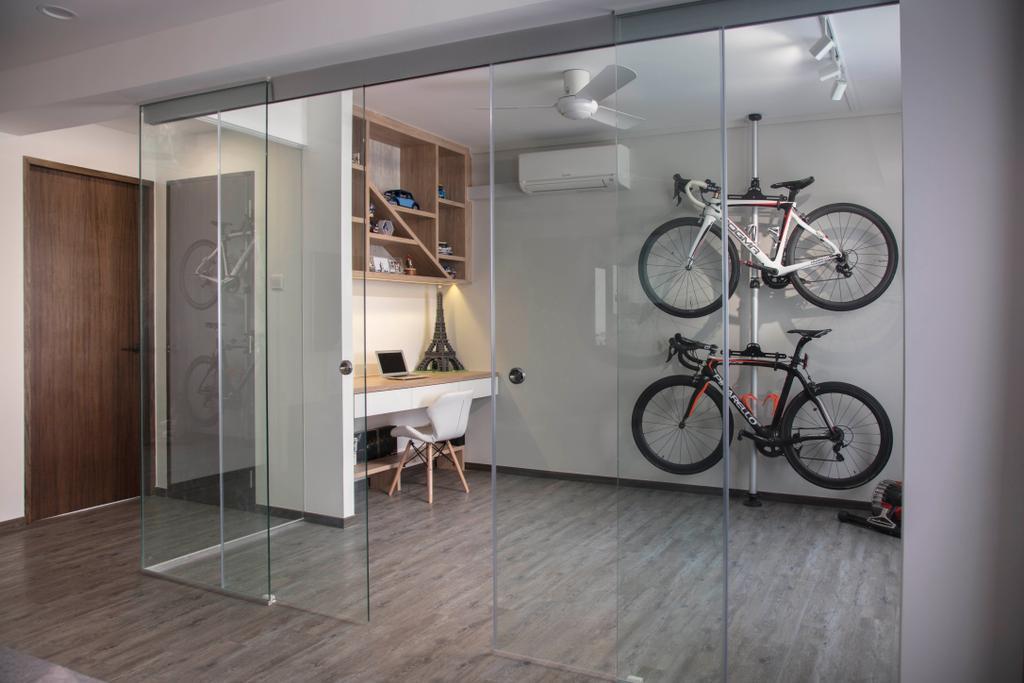 Contemporary, HDB, Tampines Street 72, Interior Designer, Aart Boxx Interior