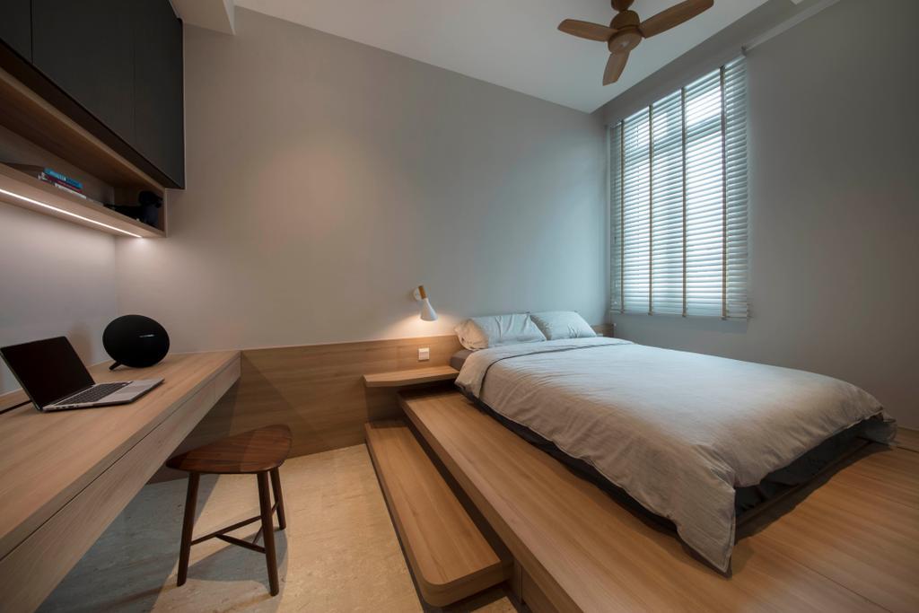 Minimalistic, Condo, Bedroom, Waterfront @ Faber, Interior Designer, Aart Boxx Interior