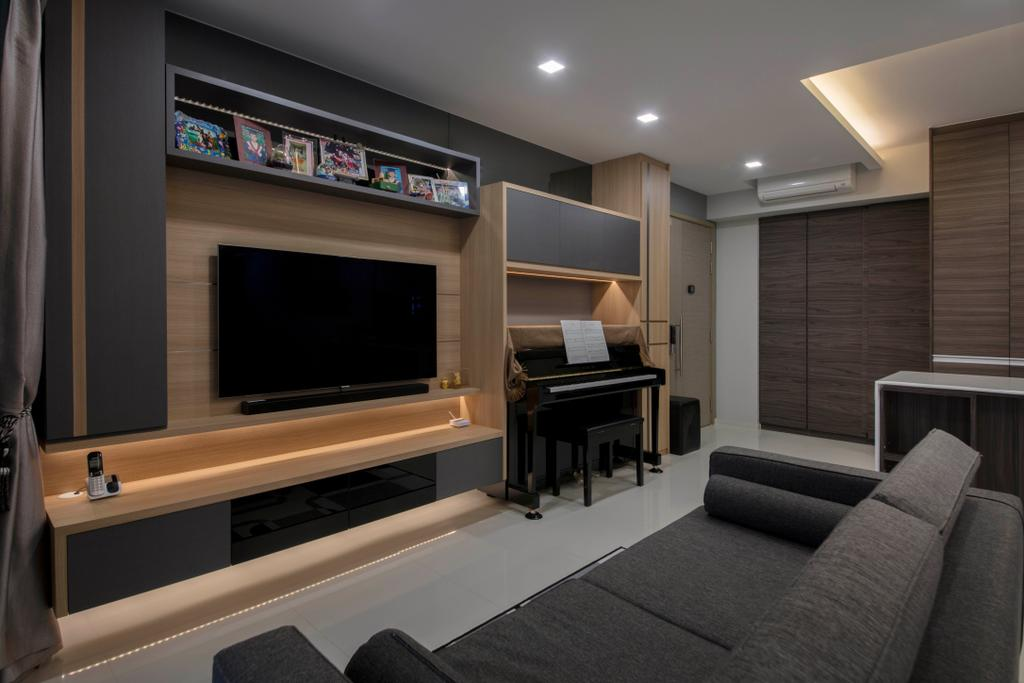 Contemporary, Condo, Living Room, The Terrace, Interior Designer, Aart Boxx Interior
