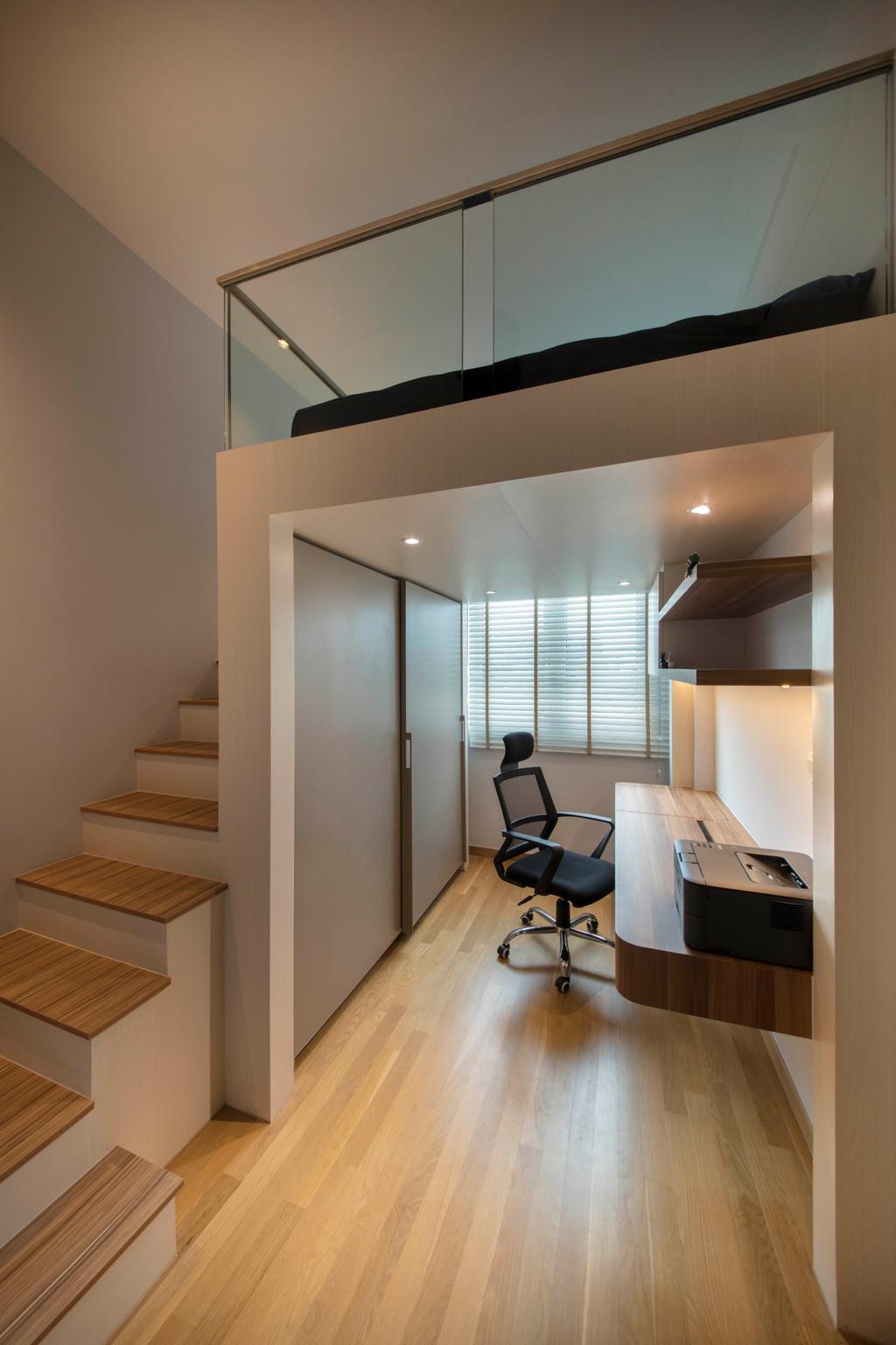 Minimalistic, Condo, Study, Waterfront @ Faber, Interior Designer, Aart Boxx Interior