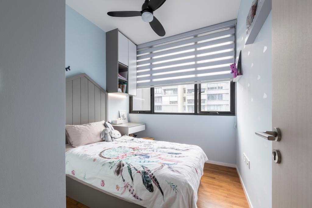 Modern, Condo, Bedroom, The Amore, Interior Designer, Space Atelier