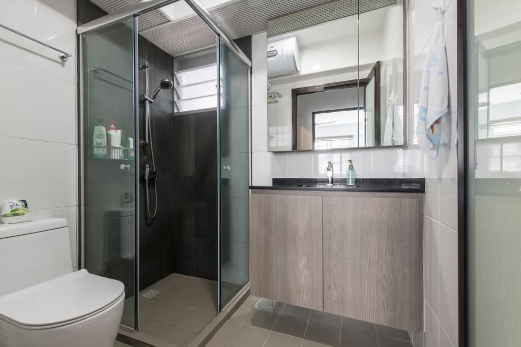 Modern, HDB, Bathroom, Telok Blangah Street 31, Interior Designer, Glamour Concept