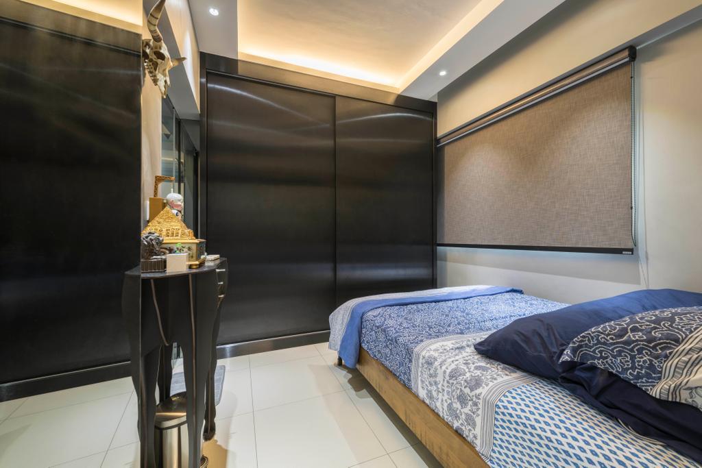 Transitional, HDB, Bedroom, Yishun Avenue 4, Interior Designer, Hub One Builder