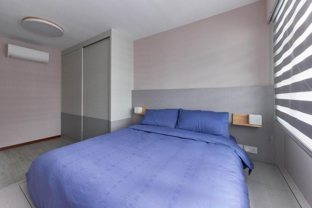 Scandinavian, HDB, Bedroom, Sumang Lane, Interior Designer, D Initial Concept