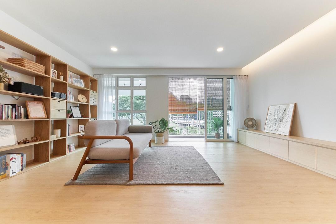 Kallang Trivista, D5 Studio Image, Minimalistic, Living Room, HDB