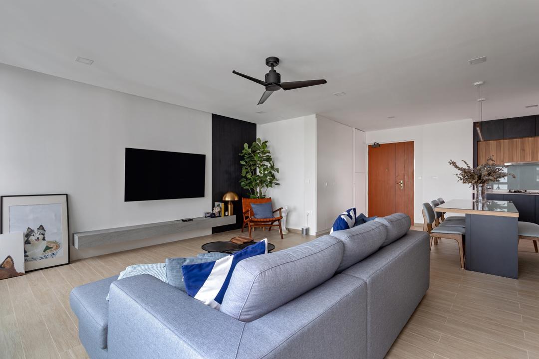 Marvelous Ang Mo Kio Street 44, Style Living Interior, Living Room, HDB