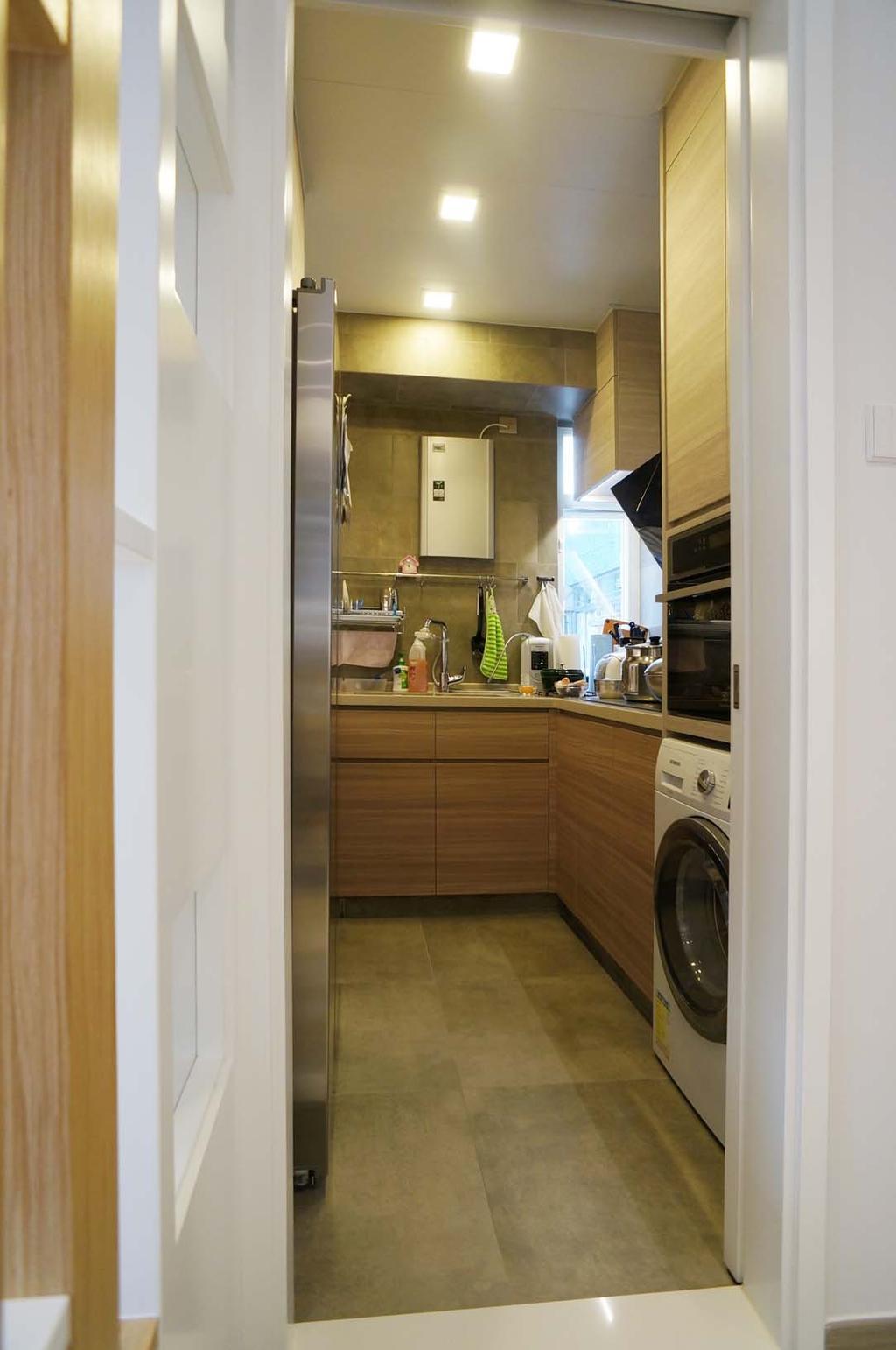 當代, 私家樓, 廚房, 芝齡大廈, 室內設計師, 和生設計