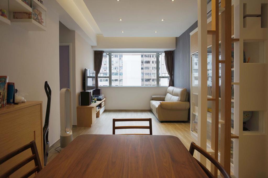 當代, 私家樓, 客廳, 芝齡大廈, 室內設計師, 和生設計